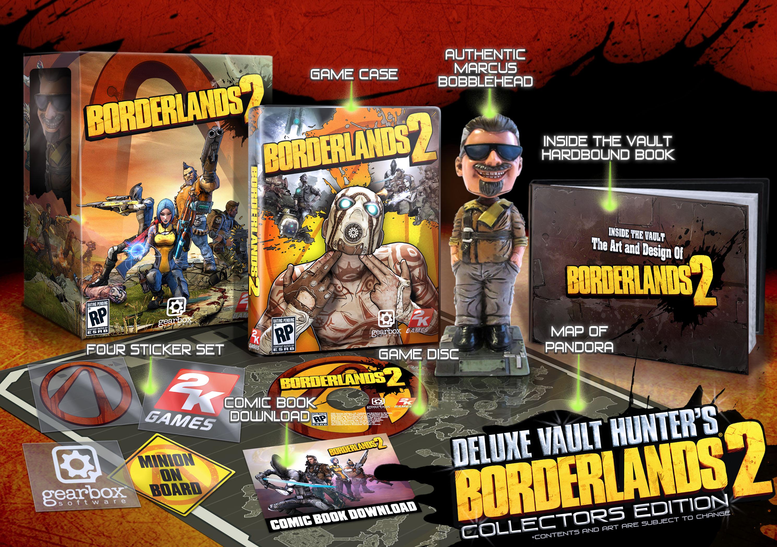 Borderlands 2 (Deluxe Vault Hunter's Collectors Edition)