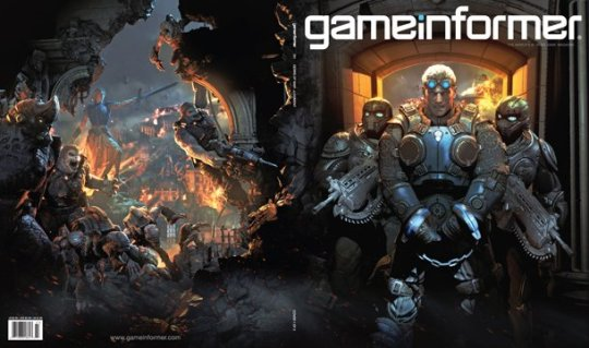 Gears of War Judgement Game Informer Cover 2